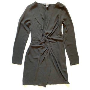 NWOT Forever 21 Low Cut Dress w Front Slit
